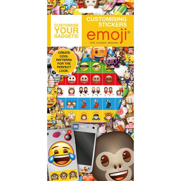 Emoji Party Bag Fillers - Customising Stickers