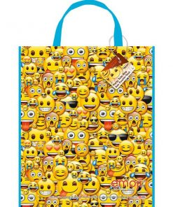Emoji Party Plastic Tote Bag