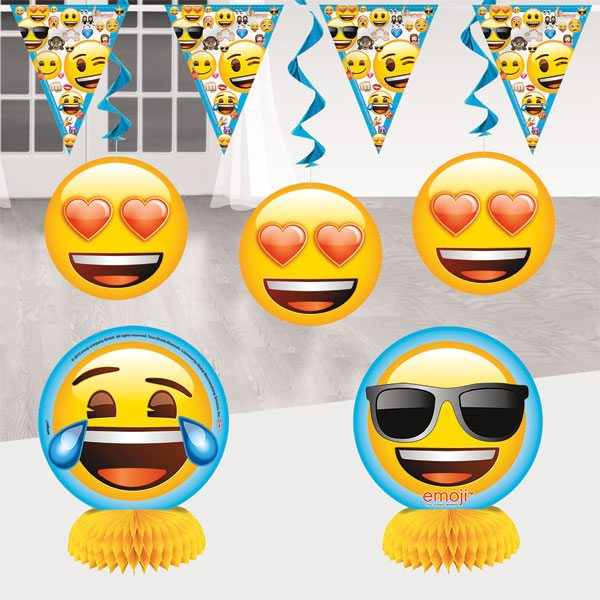 Emoji Party Room Decorating Kit