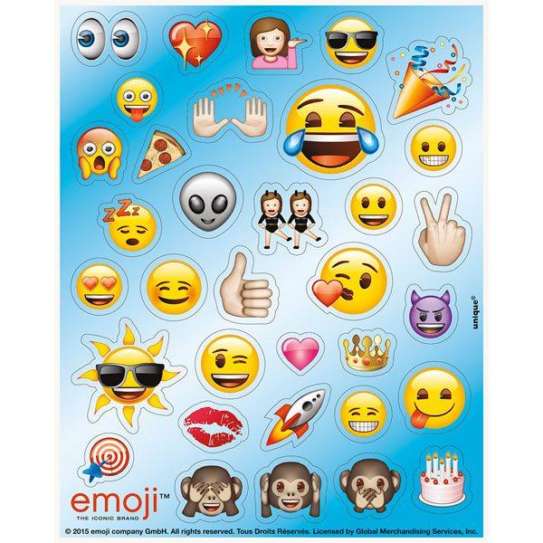 Emoji Party Bag Fillers - Sticker Sheets
