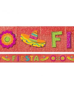 Mexican Fiesta Party Fringe Banner