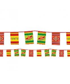 Mexican Fiesta Party Paper Bunting