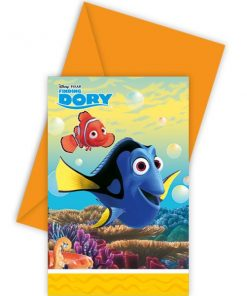 Disney Finding Dory Party Invitation Cards