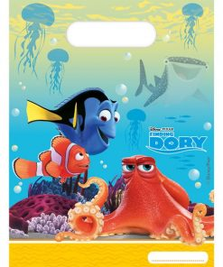 Disney Finding Dory Party Plastic Loot Bags