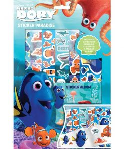 Disney Finding Dory Party Bag Fillers - Sticker Box