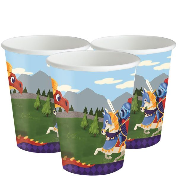 Medieval Prince Party Paper Cups