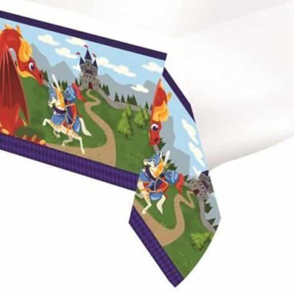 Medieval Prince Party Plastic Tablecover