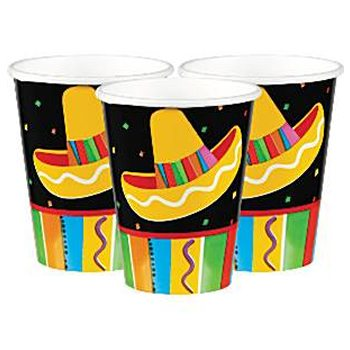 Mexican Fiesta Party Paper Cups