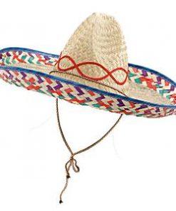 Mexican Fiesta Party Straw Sombrero
