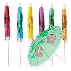 Parasol Umbrella Cocktail Picks