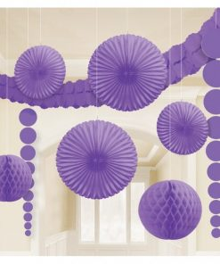 Purple Room Kit Decorations