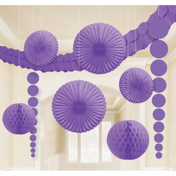 Purple Room Kit Decorations