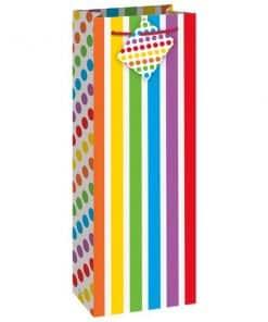 Rainbow Party Wine Gift Bag