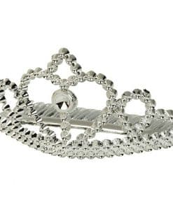 Silver Metallic Princess Tiaras