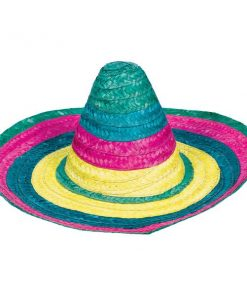 Mexican Fiesta Party Multi Coloured Summer Sombrero