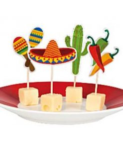 Mexican Fiesta Party Cocktail Picks
