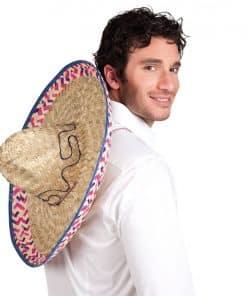 Natural Straw Sombrero Hats