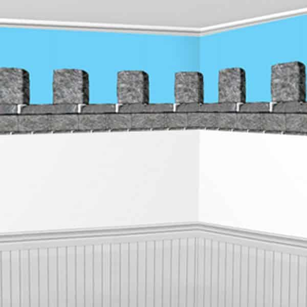 Stone Wall Border Scene Setter