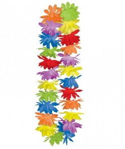 Rainbow Colour Hawaiian Lei's