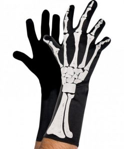 Halloween Adult Skeleton 3D Gloves