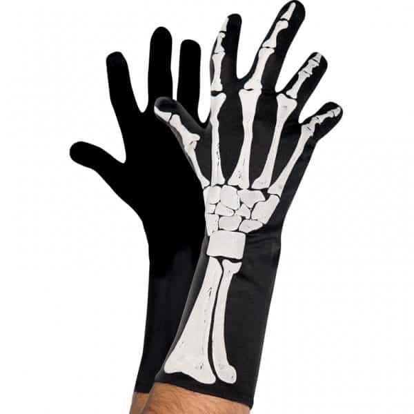 Halloween Adult Skeleton 3D Gloves