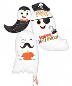 Halloween Ghost Stacker Foil Supershape