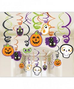 Halloween Family Friendly Hanging Swirls