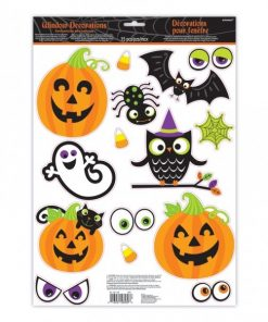 Halloween Family Friendly Window Decorations (each)