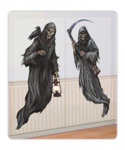 Halloween Cemetery Ghost Scene Add-Ons