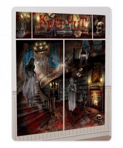 Halloween Haunted Mansion Scene Setter