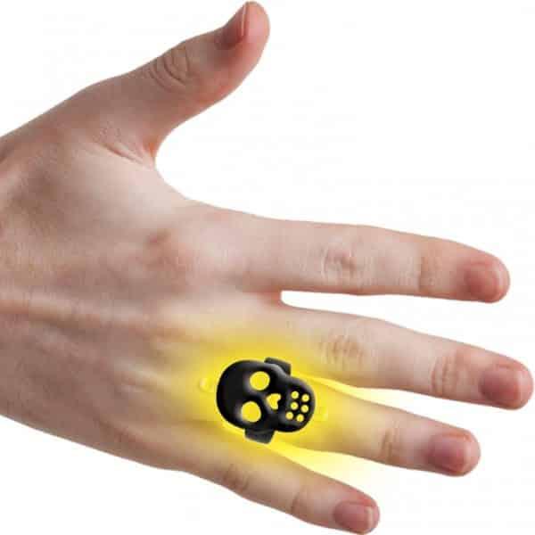 Halloween Glow Skeleton Ring