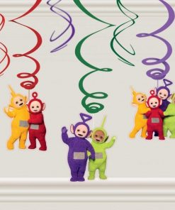 Teletubbies Party Swirl Hanging Decorations