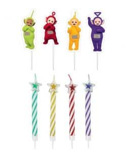 Teletubbies Party Pick Candles