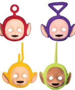 Teletubbies Party Card Face Masks