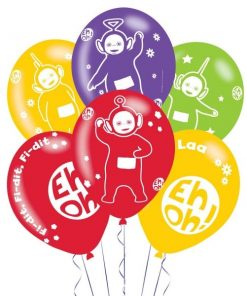 Teletubbies Party Printed Latex Assorted Balloons