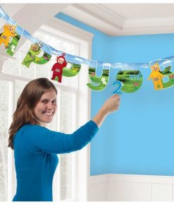 Teletubbies Party Add-an-Age Letter Banners