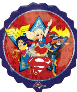 uper Hero Girls Party SuperShape XL Foil Balloon