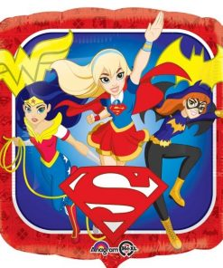 Super Hero Girls Party Foil Balloon