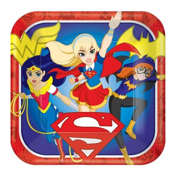 Dc superhero party fun supplies childrens