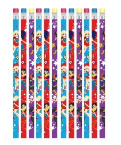 Super Hero Girls Party Pencils