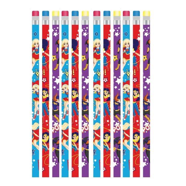 Super Hero Girls Party Pencils