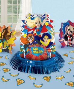 Super Hero Girls Party Table Decoration Kit