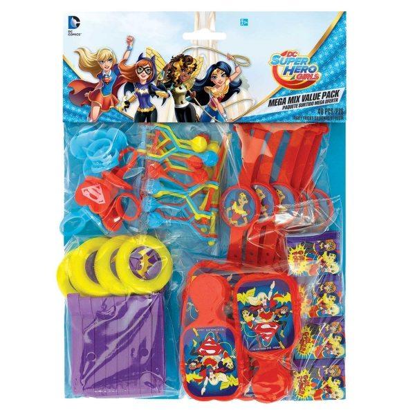 Super Hero Girls Favour Pack