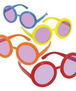 60s Groovy Round Glasses