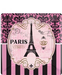A Day in Paris Party Paper Dessert Plates