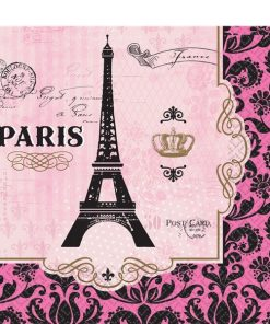 A Day in Paris Party Paper Napkins