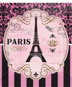 A Day in Paris Party Paper Plates