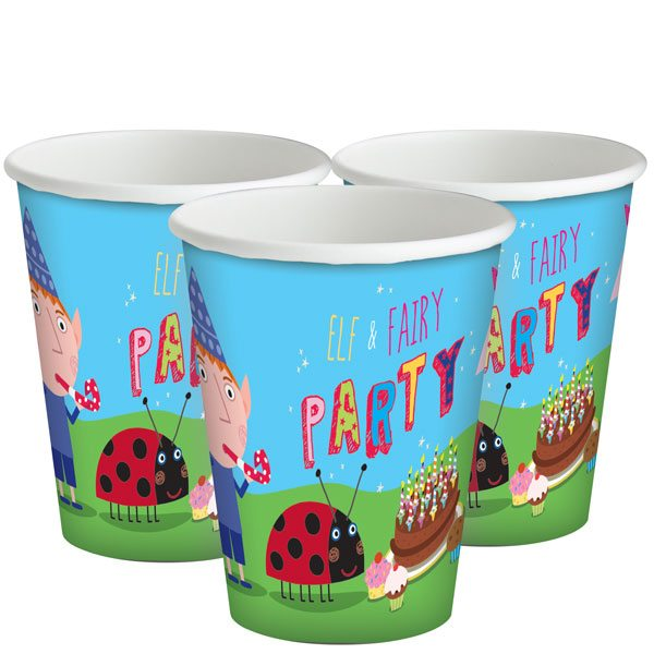 Ben & Holly Party Paper Cups
