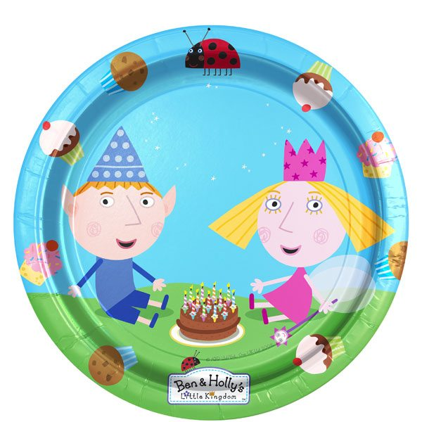 Ben & Holly Party Paper Plates
