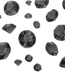 Black Gem Table Diamante
